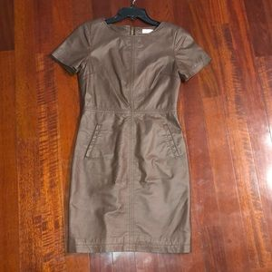 Orsay leather dress